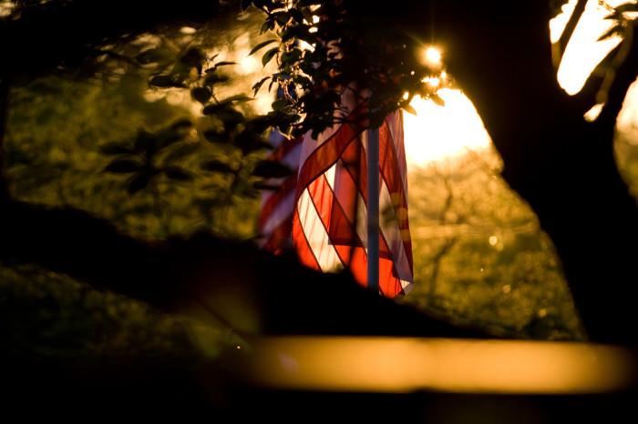 9) An American Flag