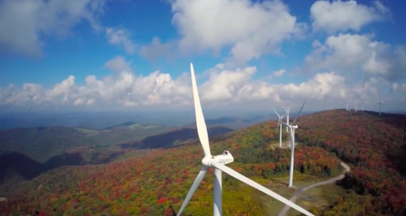 8. Another shot of the windmills near Elkins