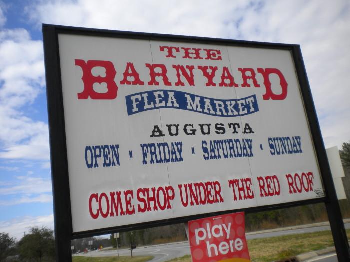 4) The Baynard Flea Market - 1625 Doug Barnard Pkwy, Augusta, GA 30906-