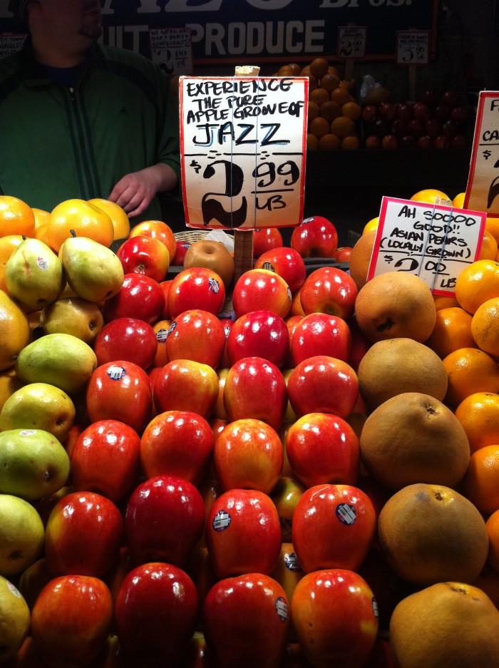 4. Apples.