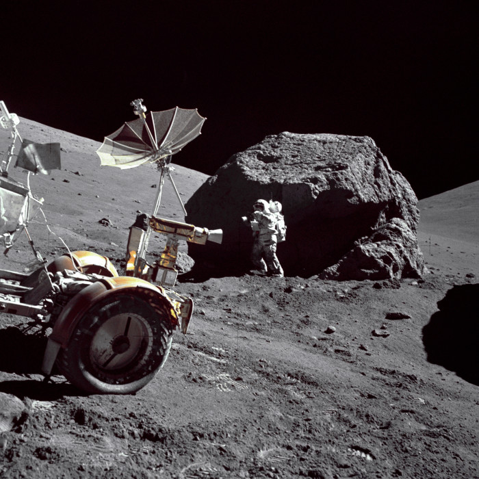3. The vehicle used by astronauts on the moon, Lunar Rover, was created by Boeing in Seattle.