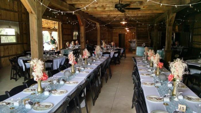 barn at woodridge inside