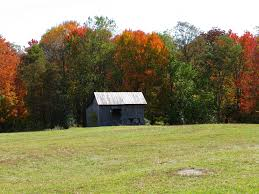1. This beautiful barn picture taken in the fall