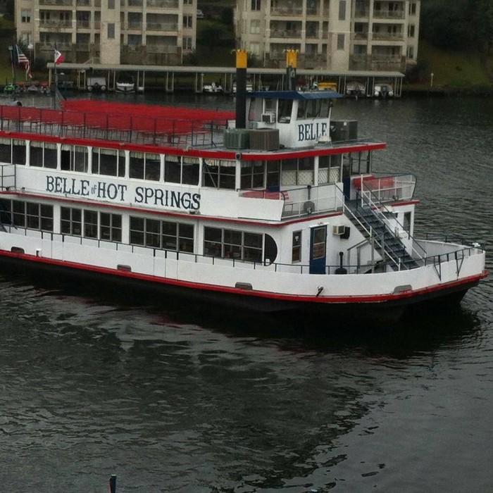 1. Belle of Hot Springs Riverboat