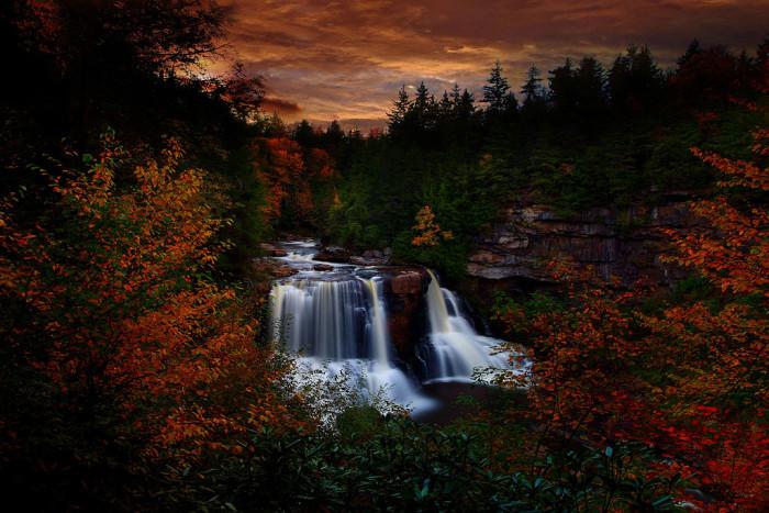 2. Blackwater Falls