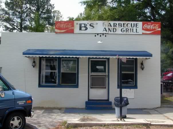 1. B's Barbecue, Greenville