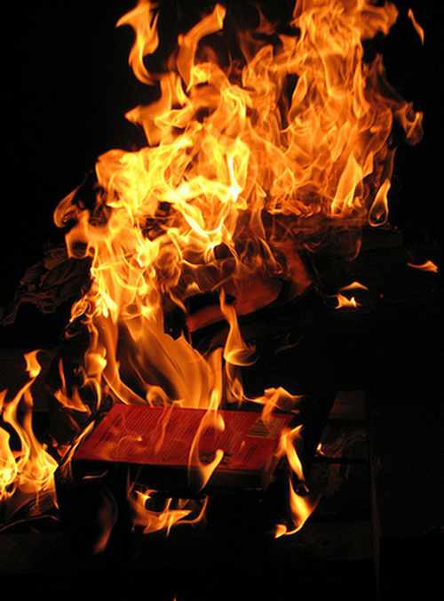 7. A Book-Burner Doesn't Plan His Escape