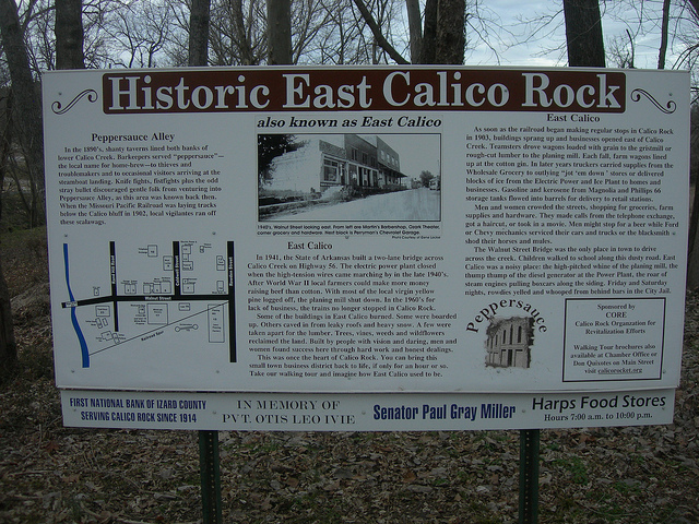 8. Calico Rock Historic District