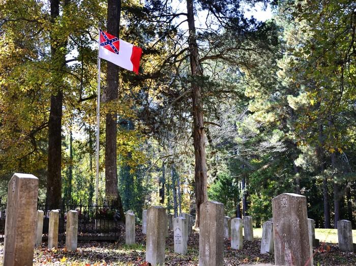 9. Camp White Sulfur Springs Confederate Cemetery