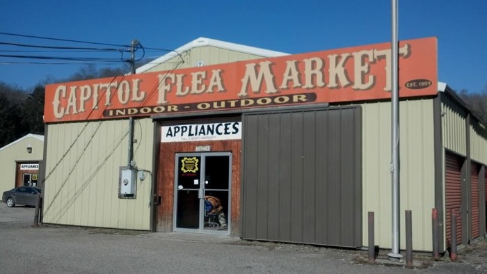 3. Capitol Flea Market in Charleston