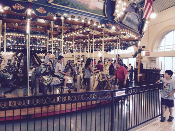 7. Hit up the Carousel of Dreams in Kennewick.