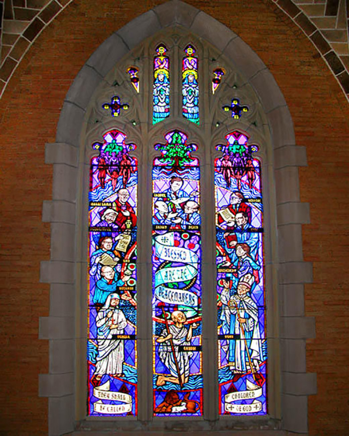 1. Saint Mark's Episcopal Cathedral may not be the most beautiful on the outside but its interior is absolutely spectacular.