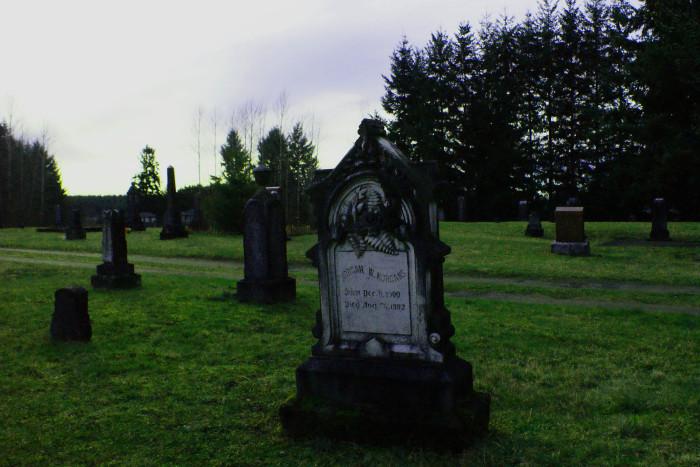 1. Black Diamond Cemetery