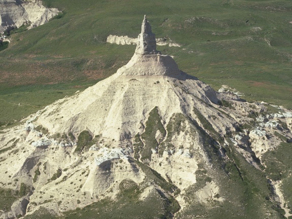 A New View of Chimney Rock
