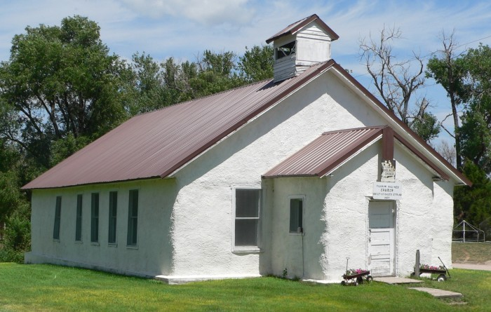 Oldest Known Straw Bale Church in the Country, Arthur