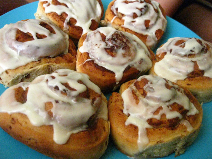 If they order chili, they'll order a cinnamon roll to go along with it. Why? Because it's AMAZING, that's why.