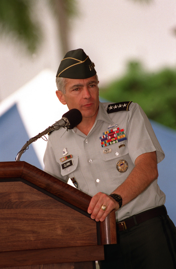 7. General Wesley Clark