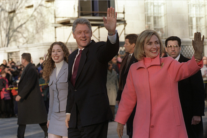 2. The Clintons