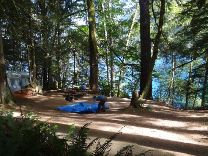 3. Fairholme Campground