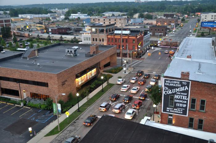 6) Downtown Kalamazoo