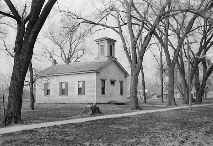 Emmanual Lutheran Church, Dakota City, 1934