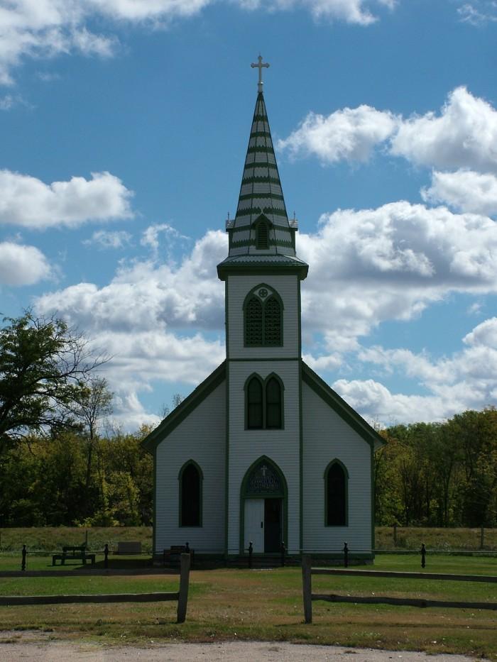 Immanuel Evangelical Lutheran Church, Stuhr Museum Grounds, Grand Island