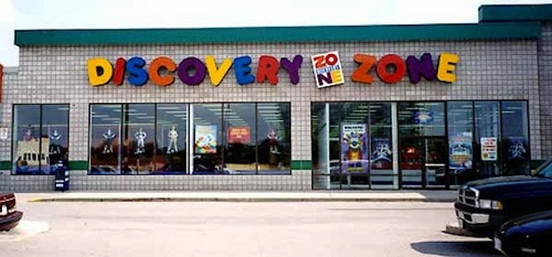 1) Discovery Zone
