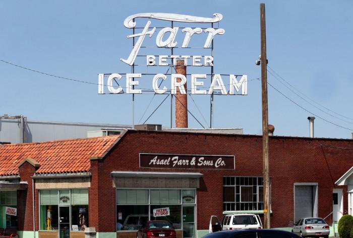 5) Farr Better Ice Cream, Ogden