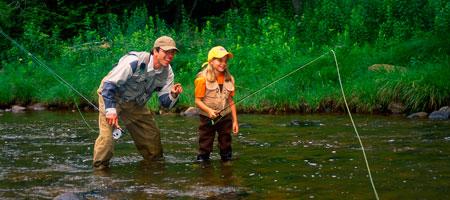 7. Gone fishing