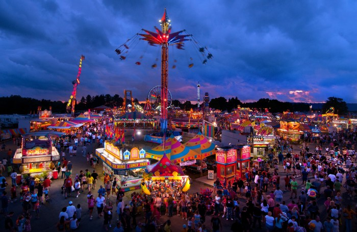 4. The flea market at the grounds of the State Fair of West Virginia