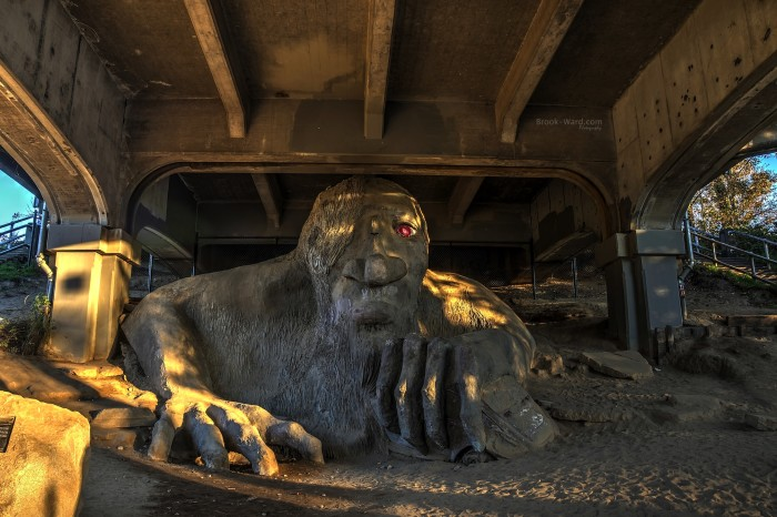10. The Fremont Troll - Seattle