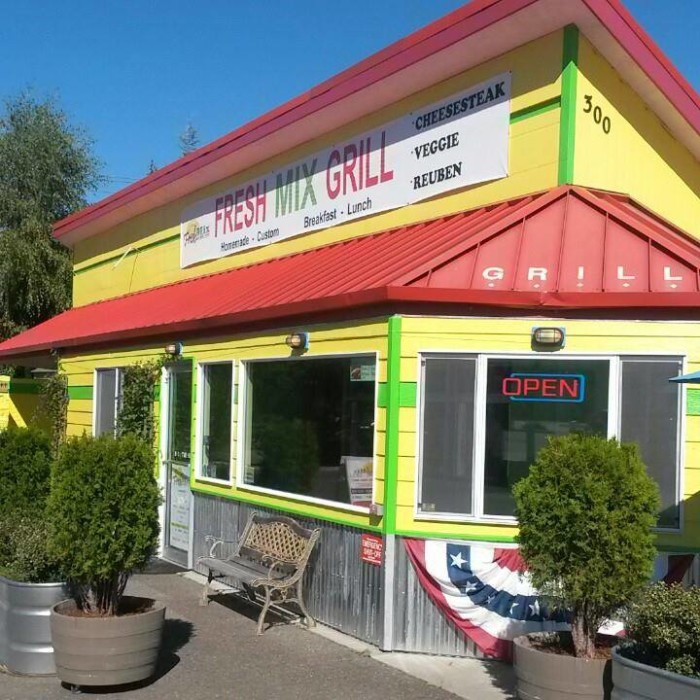 8. Just in case you were wondering about Fresh Mix Grill in Sequim...