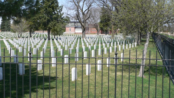 Ft. McPherson National Cemetery, South of Maxwell