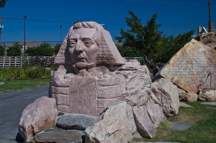 3) Gilgal Gardens, Salt Lake City