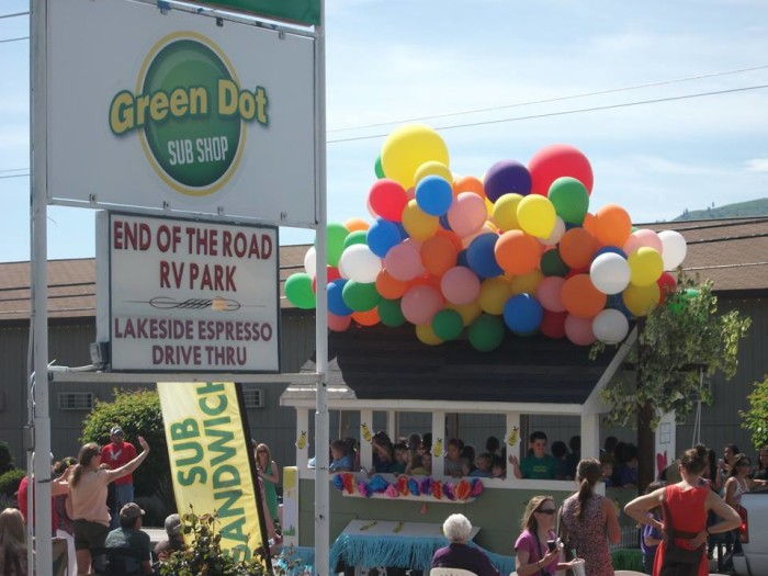 12. Green Dot Sub Shop - Manson