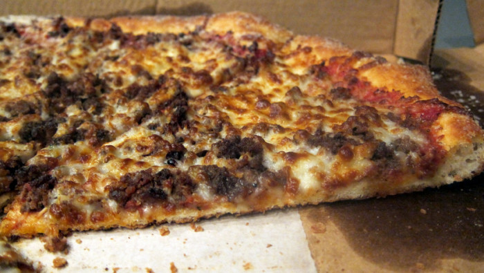 Hamburger Pizza