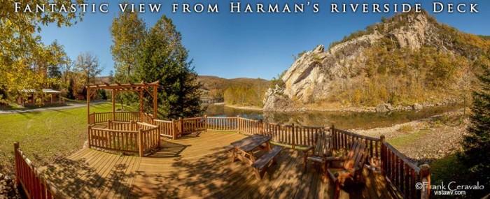 7. Harman's Luxury Log Cabins