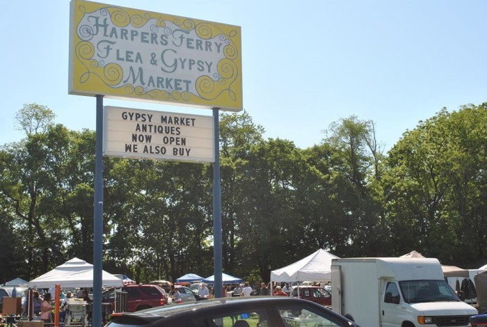9. The Harpers Ferry Gypsy Market