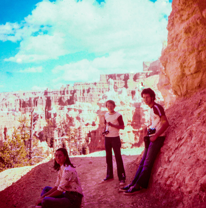 5) Hiking at Bryce Canyon National Park in Bell Bottoms and Keds