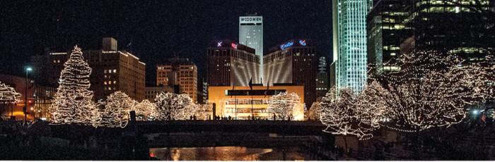 Holiday Lights Festival, Omaha