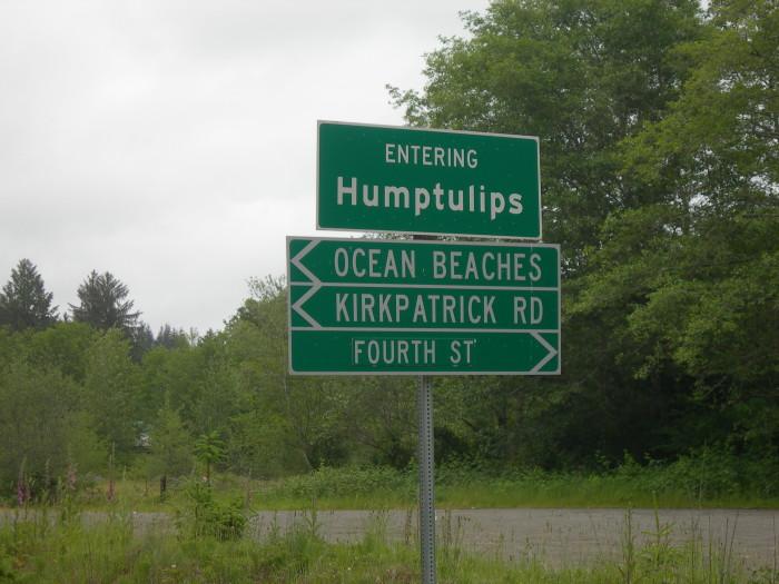 Strange Town Names In Washington