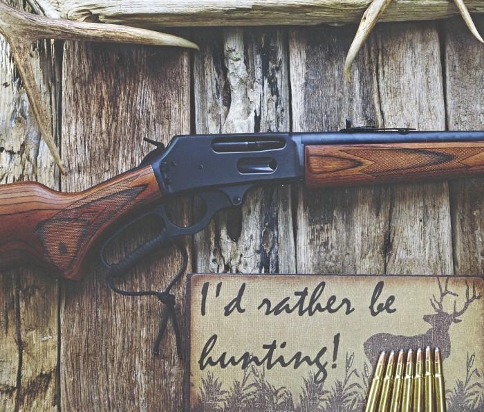 10. A gun