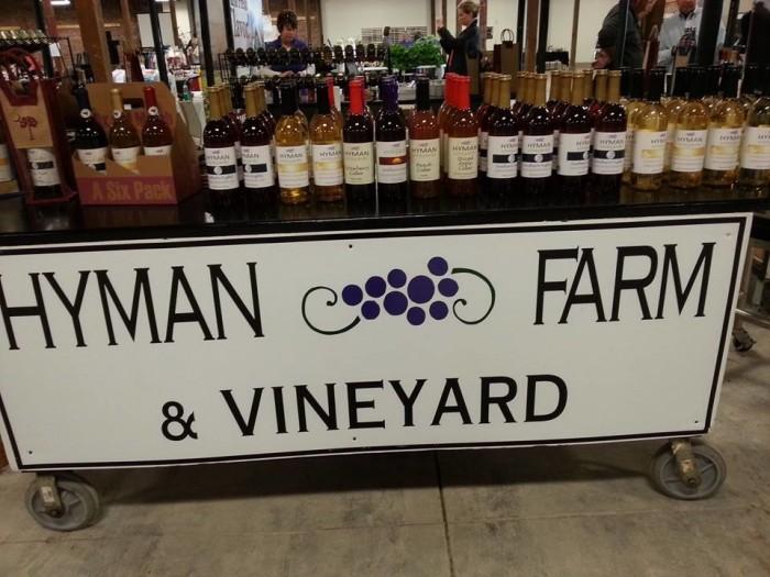 2. Hyman Vineyards,  2513 W Lucas St, Florence