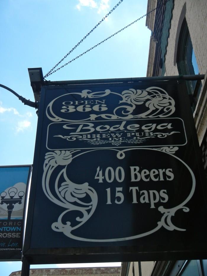 5. Bodega Brew Pub (La Crosse)