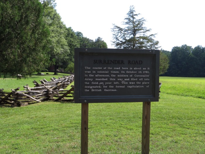 2. Yorktown Battlefield: The End of the Revolutionary War