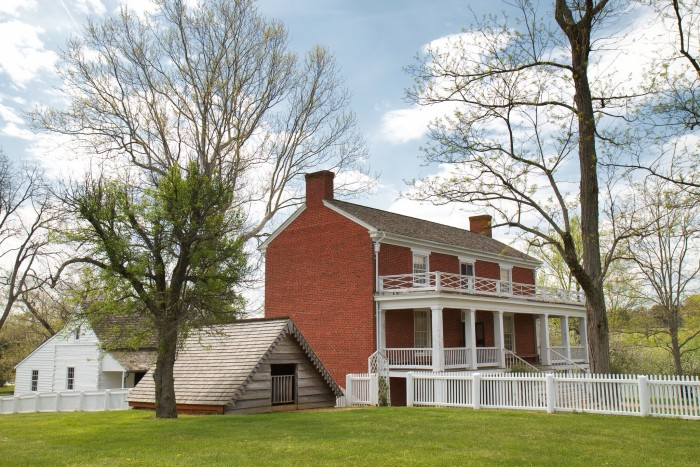 4. Appomattox Courthouse: Site of Lee's surrender and the end of the Civil War