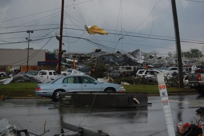 1. Sanford Tornado Damage