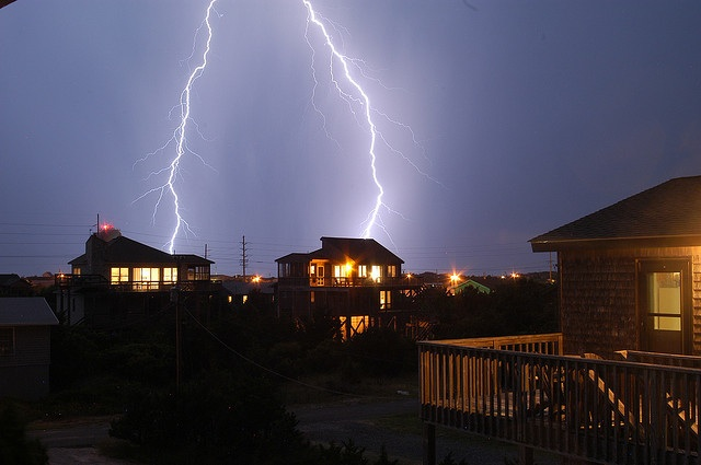 7.  Double lightning strike
