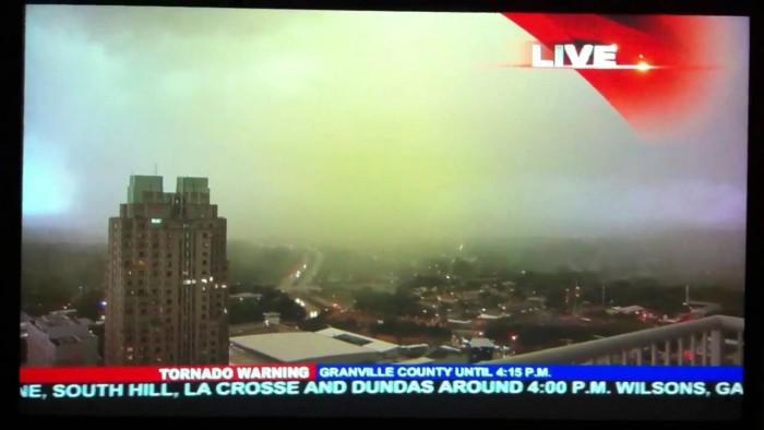 3. Raleigh tornado