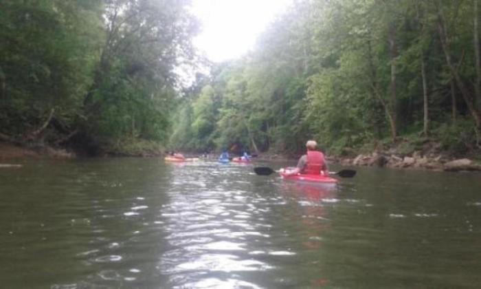 7. Go Kayaking